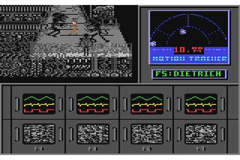 Aliens: The Computer Game (1986) by Activision C64 game