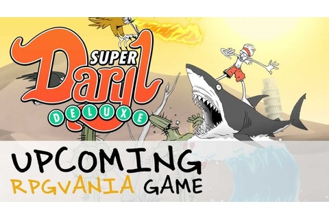 Super Daryl Deluxe 'RPGvania' Game Announced! | Fextralife