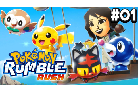 Pokemon Rumble Rush Part 1 NEW POKEMON GAME Android & IOS ...