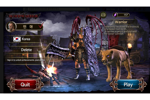 Blood Warrior: RED EDITION APK Download - Free Role ...