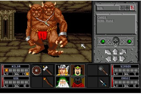 Black Crypt (Amiga) Game Download
