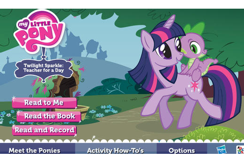 Mobile Game: My Little Pony: Twilight Sparkle, Teacher for ...