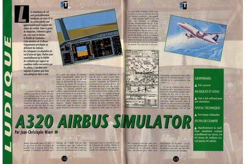 Atari ST A320 Airbus : scans, dump, download, screenshots ...