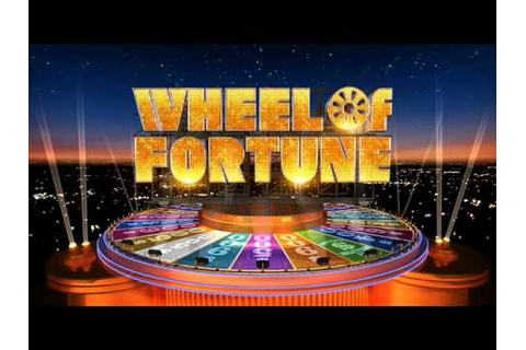 Wheel of Fortune Credits Theme (2007-Present) - YouTube