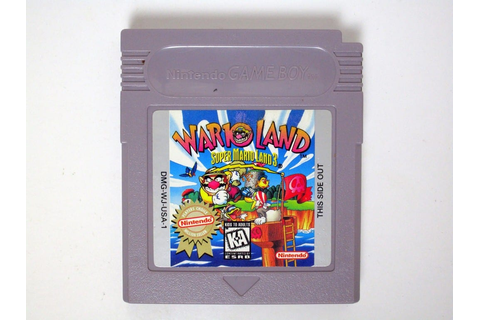 Wario Land Super Mario Land 3 game for GameBoy (Loose ...