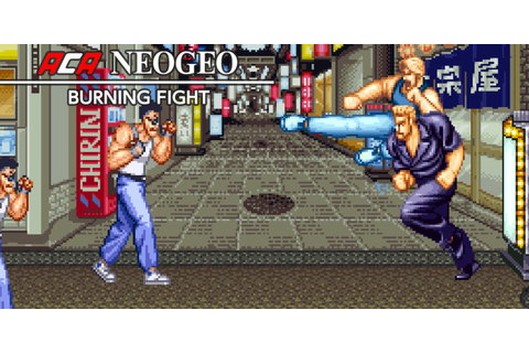 ACA NEOGEO BURNING FIGHT | Programas descargables Nintendo ...