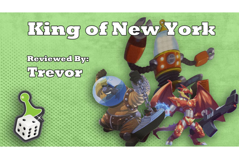 Board Game Review: King of New York - YouTube