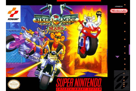 Biker Mice From Mars Review - SNES | Nintendo Life