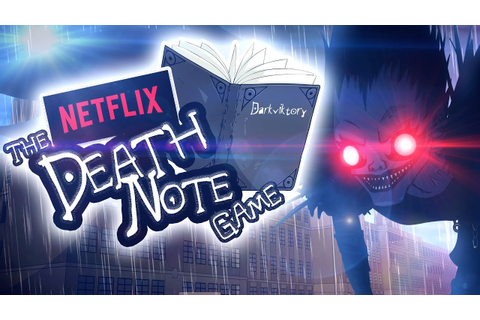 The NETFLIX DEATH NOTE Game - YouTube