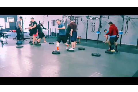 The Floor is Lava CrossFit Warm Up Game - YouTube