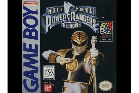 Mighty Morphin Power Rangers: The Movie (Nintendo Game Boy ...