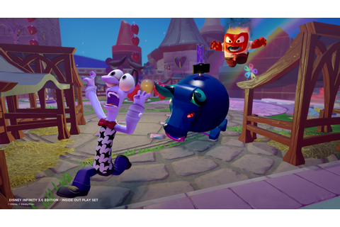 Disney Infinity 3.0 Turns 'Inside Out' Into A Dynamic ...