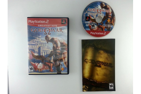God of War game for Playstation 2 (Complete) | The Game Guy