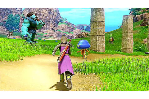 DRAGON QUEST X, XI - 14 Minutes of NEW Gameplay (Nintendo ...