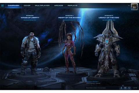 StarCraft 2's new user interface detailed | PC Gamer