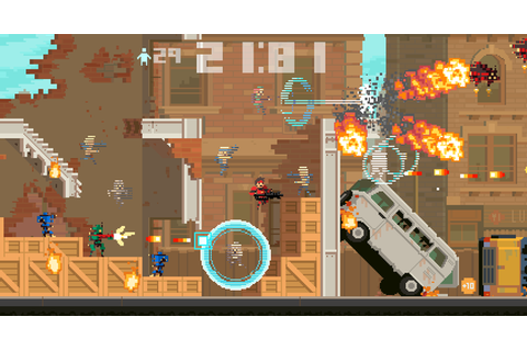 Super Time Force New Trailer Shows Off Slow Motion | mxdwn ...