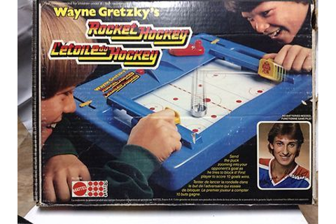 Mattel WAYNE GRETZKY ROCKET HOCKEY Game 1979 Edition ...