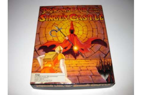 Dragon's Lair: Escape From Singe's Castle (Amiga, 1989 ...