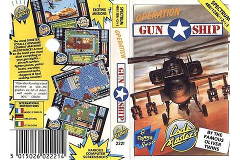 Игра Operation Gunship | ZX Spectrum - онлайн-коллекция игр