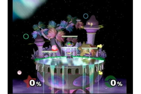 SSB:M Arenas - Kirby Stages