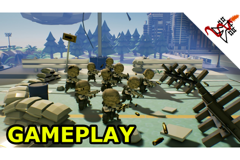 Tiny Metal - GAMEPLAY [Tough Military Turn Based Strategy ...