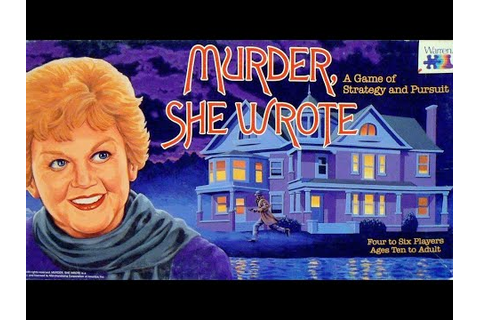 Ep. 93: Murder She Wrote Board Game Review (1985 ) - YouTube