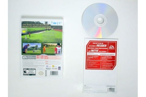 Tiger Woods PGA Tour 12: The Masters game for Wii ...
