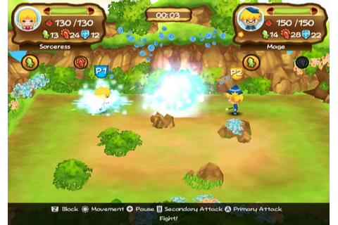 Little Tournament Over Yonder - WiiWare Review - Wiiloveit.com