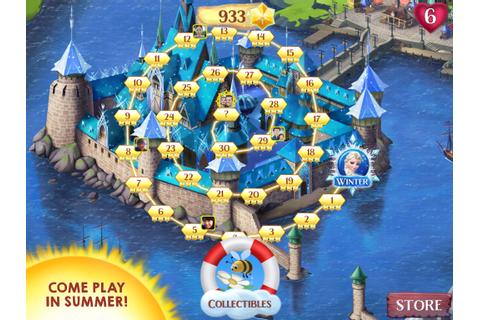 Frozen Free Fall | Disney Australia Games