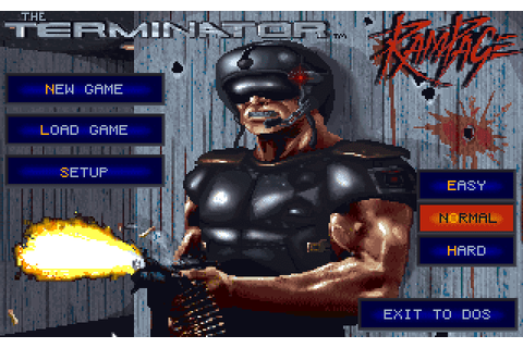 Super Adventures in Gaming: The Terminator: Rampage (MS ...