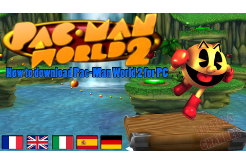How to download Pac-Man World 2 for PC - YouTube