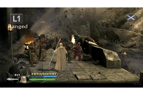 The Lord of the Rings: The Return of the King PS2 Gameplay ...