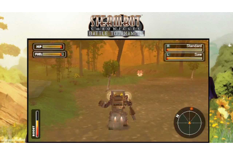 (PSP) Steambot Chronicles Battle Tournament - 02 - YouTube