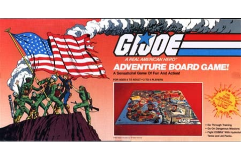 YOJOE.COM | G.I. Joe Adventure Board Game
