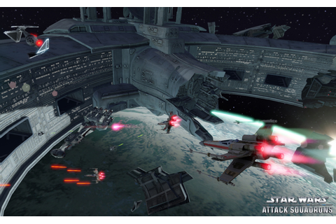 Star Wars: Attack Squadrons is free space combat game for ...