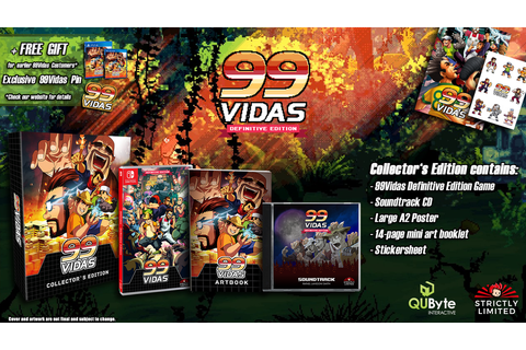99Vidas - Definitive Collector's Edition (Nintendo Switch ...