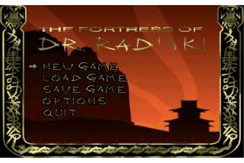Fortress of Dr. Radiaki, The Download (1994 Arcade action ...
