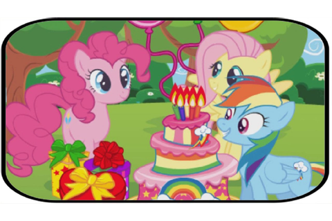 MLP Game For Kids - Pinkie Pie Fluttershy Birthday Party ...