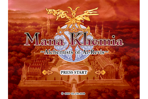 Romhacking.net - Games - Mana Khemia: Alchemists of Al-Revis