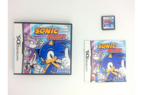 Sonic Rush game for Nintendo DS (Complete) | The Game Guy
