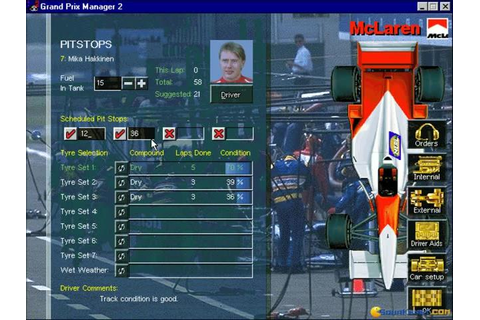 Grand Prix Manager 2 download PC