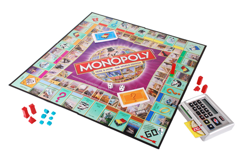 Amazon.com: Monopoly Here and Now World: Toys & Games