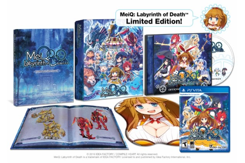 Pre-Orders for MeiQ: Labyrinth of Death LE Open August 9 ...