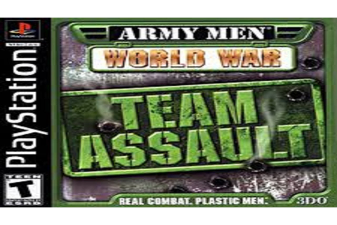 PSX-PSP | Descargar Army Men World War Team Assault | Mega ...