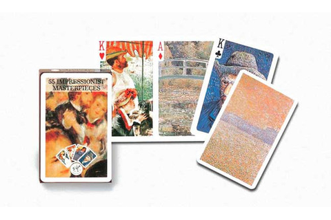 Impressionists Masters - Playing Cards - SeriousCards.com