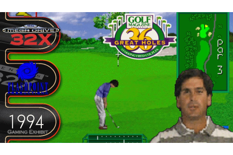 Golf Magazine: 36 Great Holes Starring Fred Couples - Sega ...