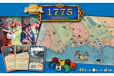 Birth of America 1775 Rebellion | Queen of Games de beste ...