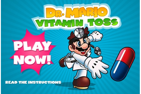 Dr. Mario Vitamin Toss Game - Super Mario games - Games Loon