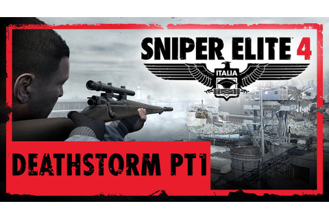 Sniper Elite 4: disponibile il DLC Deathstorm Part 1 ...