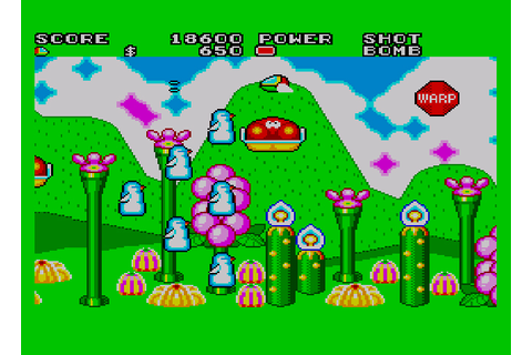 My all time favourite video games: Fantasy Zone II: The ...
